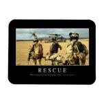 Rescate: Cita inspirada 2 Iman Rectangular