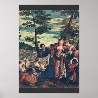 Rescate de Moses de las aguas de los muchachos del Póster