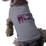 Rescate del amor de la risa camisa de mascota
