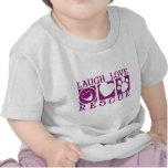 Rescate del amor de la risa camisetas