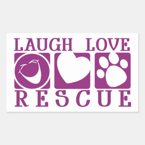 Rescate del amor de la risa etiquetas
