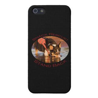 Rescate del bocado!. Retroceda iPhone 5 Carcasa