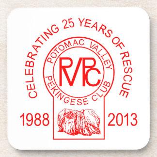 Rescate del club de Pekingese del valle de Potomac Posavasos De Bebidas
