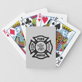 Rescate del fuego cartas de juego