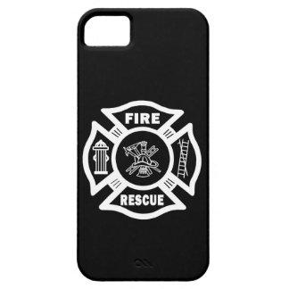 Rescate del fuego iPhone 5 carcasas