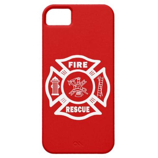 Rescate del fuego iPhone 5 Case-Mate cárcasas