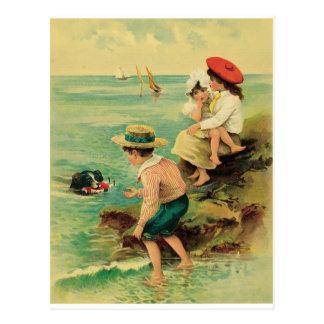 Rescate del mar postal