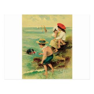 Rescate del mar tarjetas postales