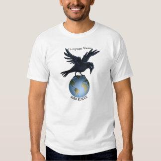 Rescate del pájaro - camiseta camisas