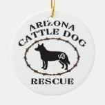 Rescate del perro del ganado de Arizona Adorno Para Reyes