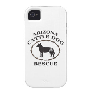 Rescate del perro del ganado de Arizona iPhone 4 Carcasa