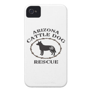 Rescate del perro del ganado de Arizona Case-Mate iPhone 4 Cárcasa