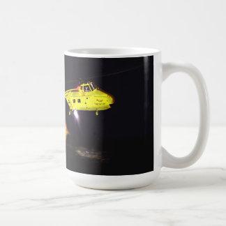 Rescate del torbellino taza básica blanca