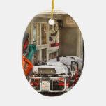 Rescate - dentro de la ambulancia adornos