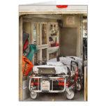 Rescate - dentro de la ambulancia felicitacion