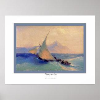 Rescate en Sea~ Ivan Aivazovsky Impresiones