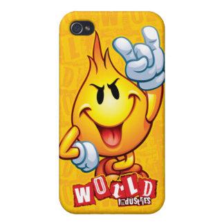Rescate Flameboy iPhone 4 Cárcasa