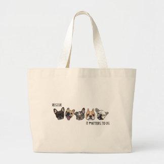 Rescate - importa a nosotros bolsas