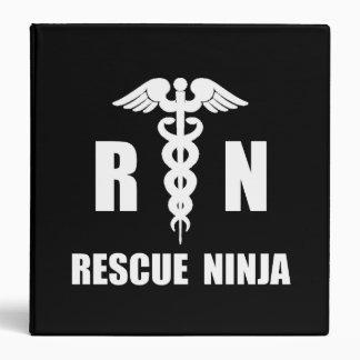 "Rescate Ninja Carpeta 1 1/2"""