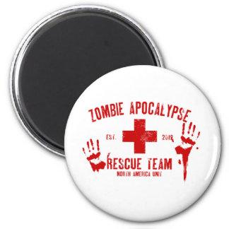 Rescate Team png del zombi Imanes De Nevera
