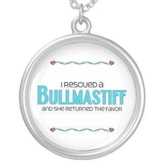 Rescaté un Bullmastiff (el perro femenino) Collar Personalizado