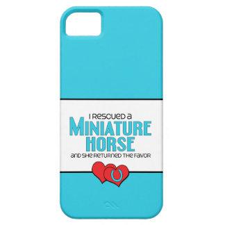Rescaté un caballo miniatura (el caballo femenino) iPhone 5 fundas