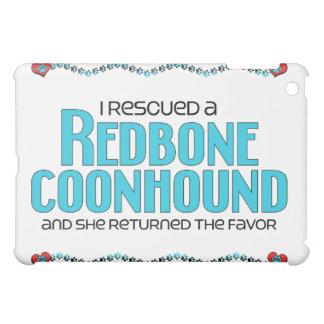 Rescaté un Coonhound de Redbone (el perro femenino