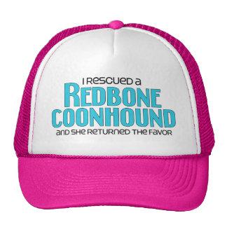 Rescaté un Coonhound de Redbone (el perro femenino Gorros