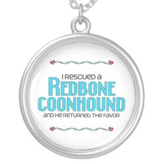 Rescaté un Coonhound de Redbone (el perro masculin Joyerias Personalizadas