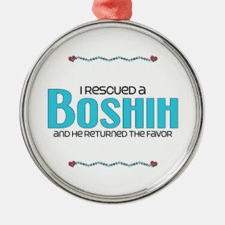 Rescaté un diseño de la adopción del perro de BoSh Ornamento Para Arbol De Navidad
