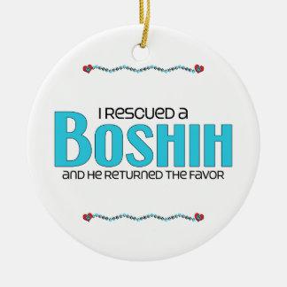 Rescaté un diseño de la adopción del perro de BoSh Ornamentos De Reyes