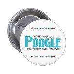 Rescaté un diseño de la adopción del perro de Poog Pins