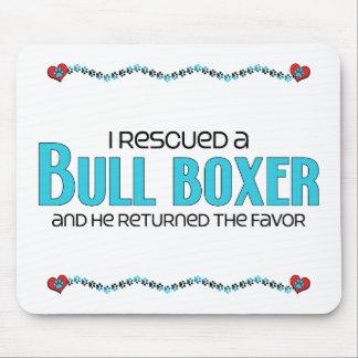 Rescaté un diseño de la adopción del perro del box tapetes de raton