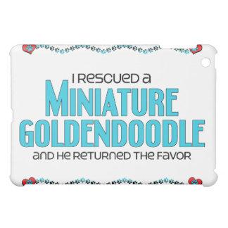 Rescaté un Goldendoodle miniatura (el perro mascul