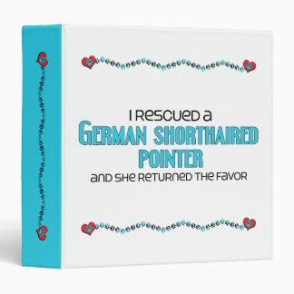 Rescaté un indicador de pelo corto alemán (femenin