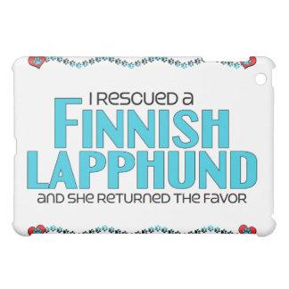 Rescaté un Lapphund finlandés (el perro femenino)