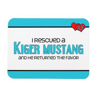 Rescaté un mustango de Kiger (el caballo masculino Imanes Rectangulares