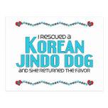 Rescaté un perro coreano de Jindo (el perro Postal
