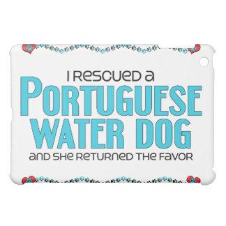 Rescaté un perro de agua portugués (el perro femen