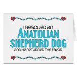 Rescaté un perro de pastor de Anatolia (el perro m Felicitacion