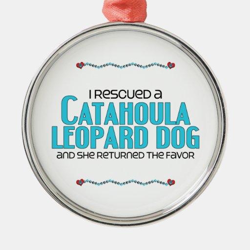 Rescaté un perro del leopardo de Catahoula (el Adornos