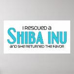 Rescaté un Shiba Inu (el perro femenino) Impresiones
