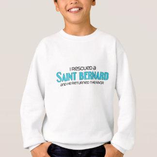 Rescaté un St Bernard (el perro masculino) Sudadera