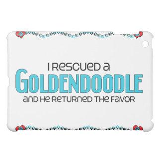 Rescaté una adopción del perro de Goldendoodle (va