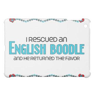 Rescaté una adopción inglesa del perro del Boodle