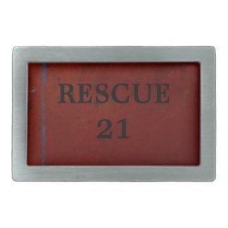 Rescue 21 belt buckle