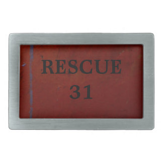 Rescue 31 belt buckle