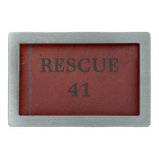 Rescue 41 belt buckle
