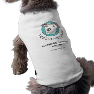 Rescue-a-bull everybully tank dog tee