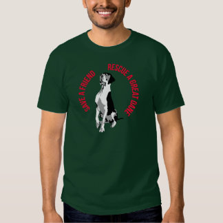 Rescue A great dane T Shirt